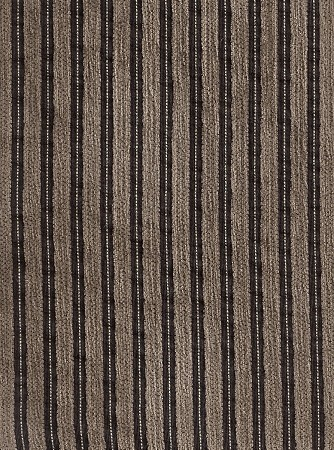 Elroy Tweed Two Tone Brown Stripe Upholstery Fabric