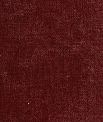 Maroon Chenille Upholstery Fabric