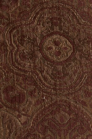 Maroon Gold Victorian Pattern Upholstery Fabric