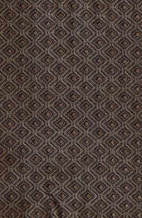 Gillis Saddle Brown Tone Diamond Pattern Upholstery Fabric