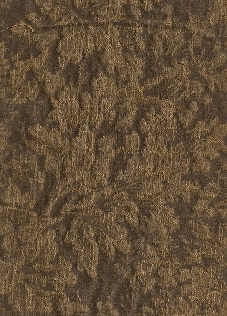 Folta Bronze Brown Tone Floral Upholstery Fabric