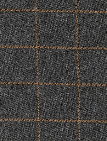 Hootie Tweed Blue Brown Square Pattern Upholstery Fabric